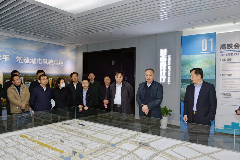 马健厅长带队赴郑州航空港区调研并现场办公 推动航空港区在开放强省建设中展现更大作为
