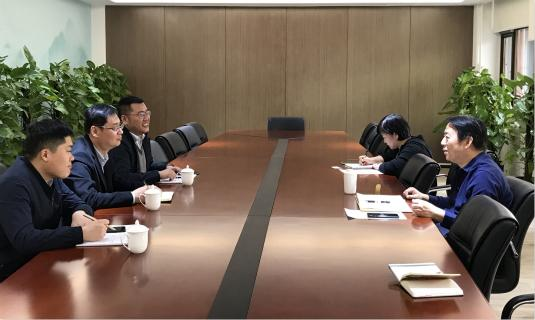 杜春光副局长一行赴商务部外贸发展局拜访陈华明副局长